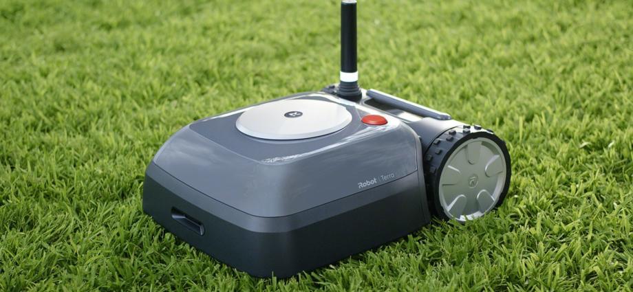 Après les robots aspirateurs, iRobot propose le robot Terra pour tondre la pelouse - Home Robots