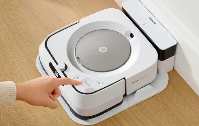 Braava jet® m6, le nouveau robot laveur de sols d'iRobot. - Home Robots