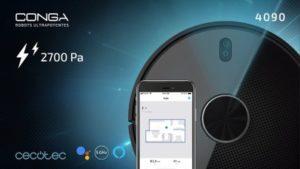 Test Cecotec Conga 4090 : de belles qualités à un prix mesuré - Home Robots