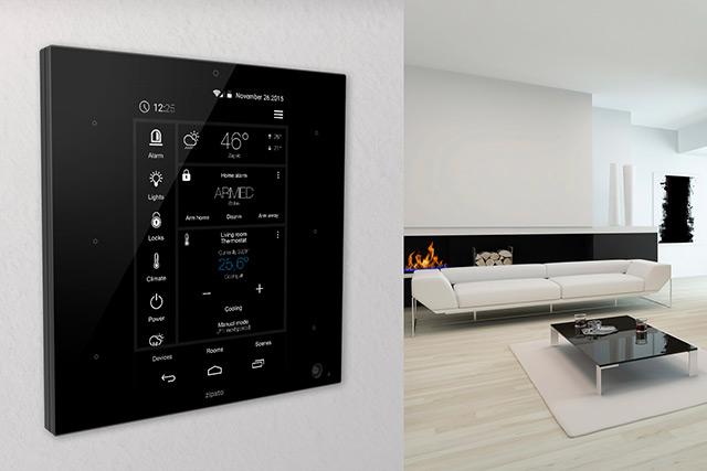 Votre maison connectée avec la tablette murale pour piloter la domotique - Home Robots