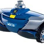 Zodiac Robot Nettoyeur de Piscine Hydraulique, Fond et Parois, Pour Piscines 12 x 6 m Maximum, Aspiration Mécanique, MX8, Bleu, W70668 - Home Robots