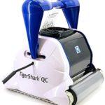 Hayward Tiger Shark QC Nettoyeur Automatique Noir et Blanc - Home Robots