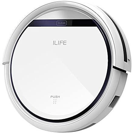 ILIFE V3s Pro Aspirateur Robot, Nettoyage automatique avec la Télécommande, Ramasse les Poils d'Animaux - Home Robots