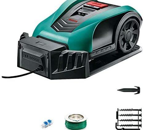 Tondeuse robot intelligente Bosch - Indego350 (largeur de coupe de 19cm,surface de tonte 350m², avec accessoires) - Home Robots