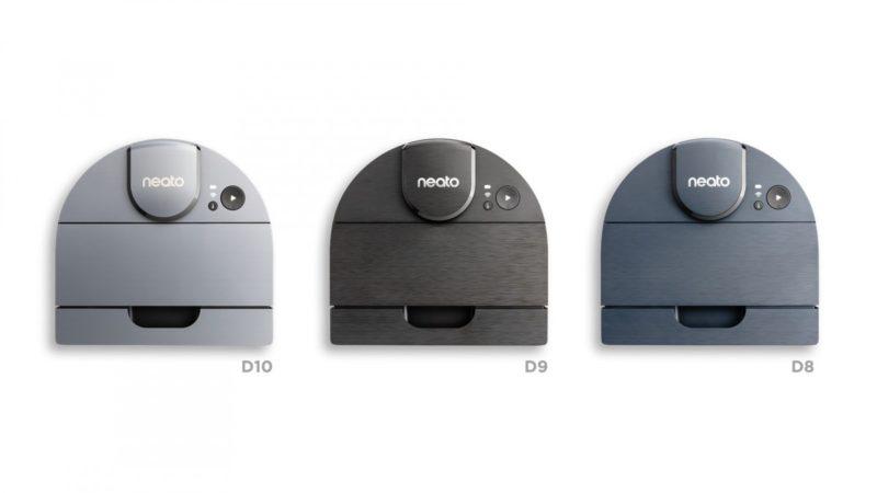 Neato Robotics annonce l'arrivée de sa nouvelle génération d'aspirateurs robots D8, D9 et D10 avec les raccourcis Siri - Home Robots