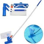 Mini aspirateur à jet pour piscine, avec brosse, sac et 5 bâtons – mini aspirateur à jet portable avec une tête nettoyante pour piscine domestique et spa - Home Robots