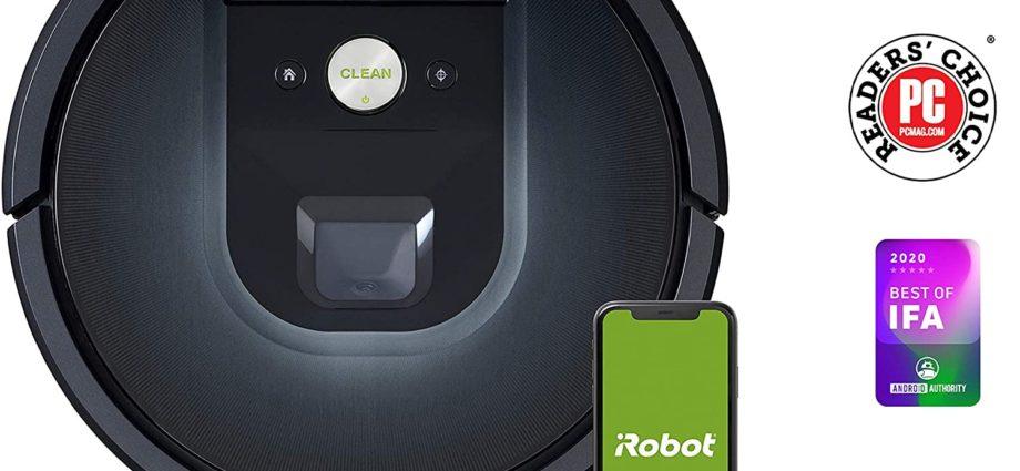 Bon plan : l'aspirateur iRobot Roomba 981 à -50% - Home Robots