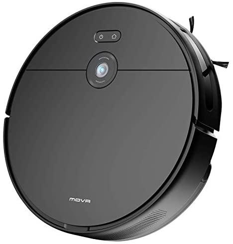 Aspirateur Robot, MOVA Z500 2 en 1 Robot Aspirateur Laveur sans Fil, Alexa, Wi-FI, avec Navigation Intelligente, avec 3000 Pa Puissance d'Aspiration, Silencieux, Poils d'animaux, Sol Dur, Tapis - Home Robots