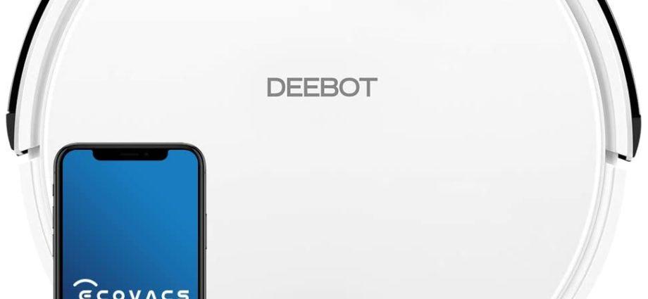 Promotion sur l'aspirateur robot ECOVACS Deebot 605 en vente flash - Home Robots