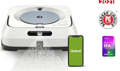 Le robot laveur de sol iRobot Braava à 529€ ! - Home Robots