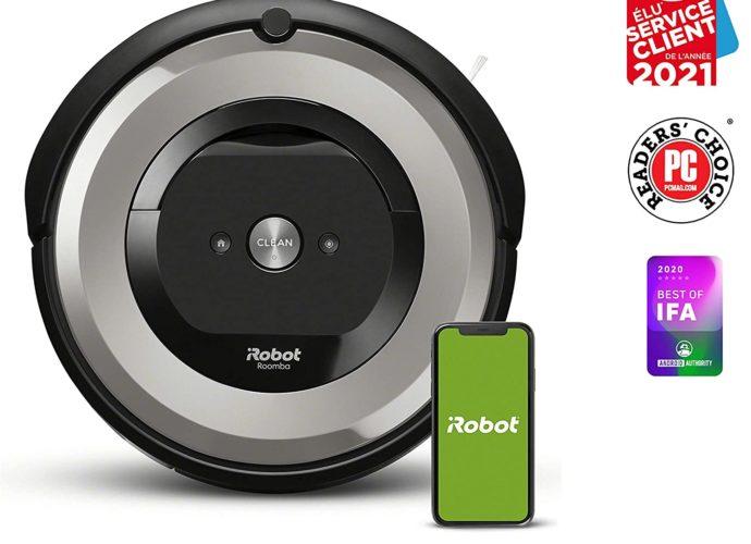 50 % de réduction sur l'aspirateur robot iRobot Roomba e5154 - Home Robots