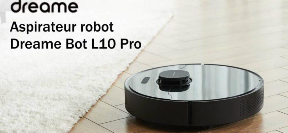 les robots aspirateurs laveurs L10 Pro et D9 en promotion chez Amazon - Home Robots