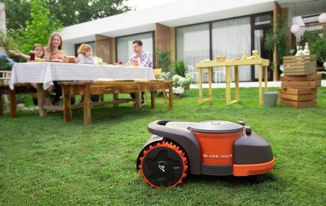 Segway lance un robot-tondeuse à gazon - Home Robots