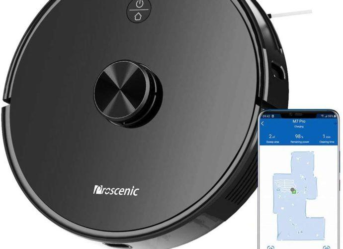 -102 € sur l'aspirateur robot Proscenic M7 PRO - Home Robots